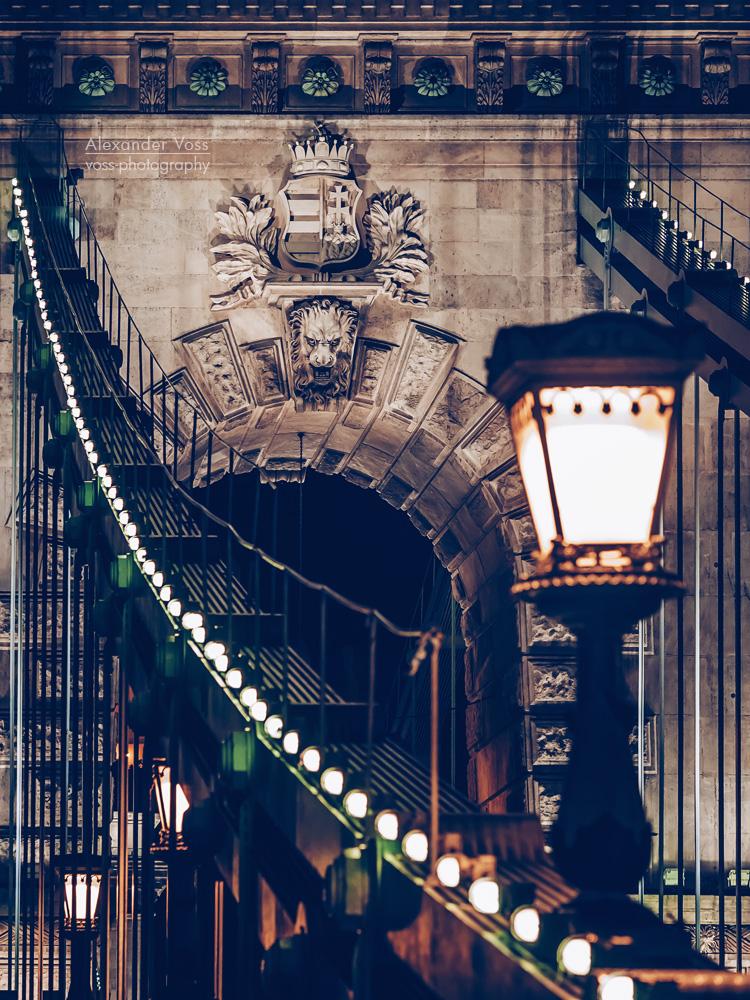 Budapest – Chain Bridge at Night