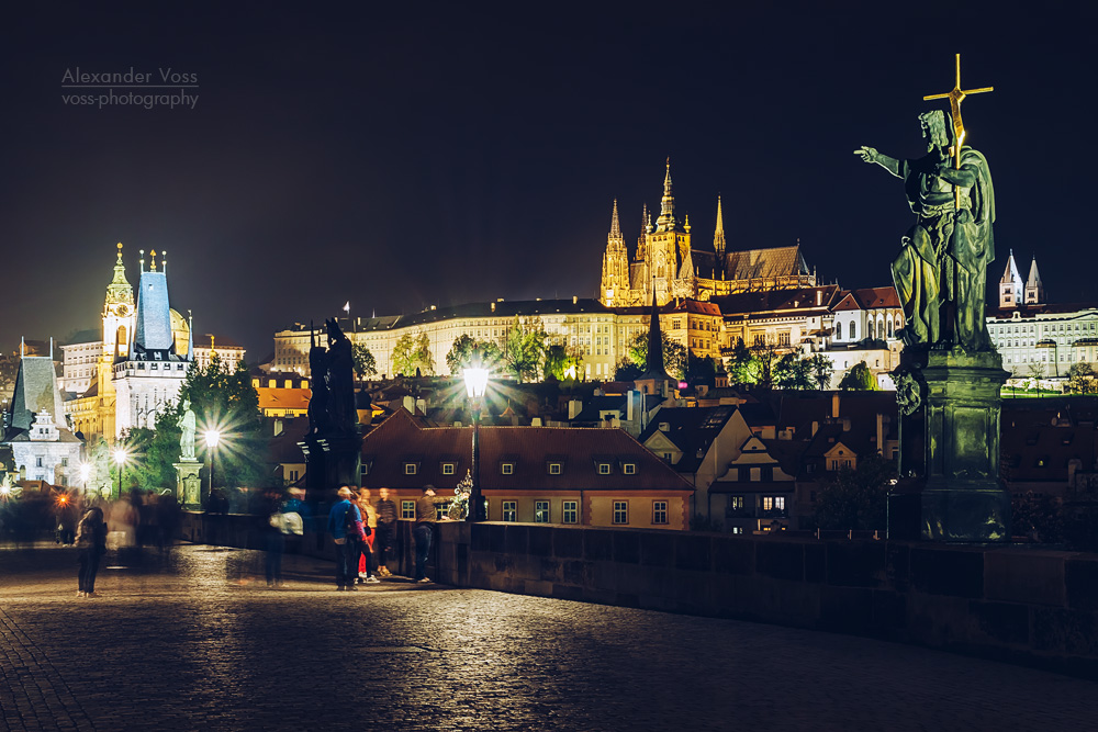 Prague – Charles Bridge at Night