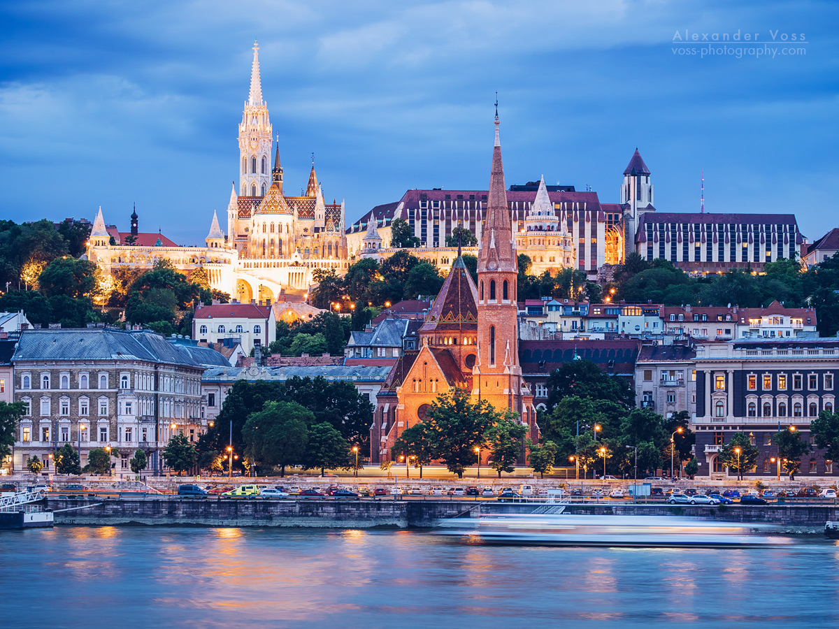 Budapest Skyline / Fisherman's Bastion