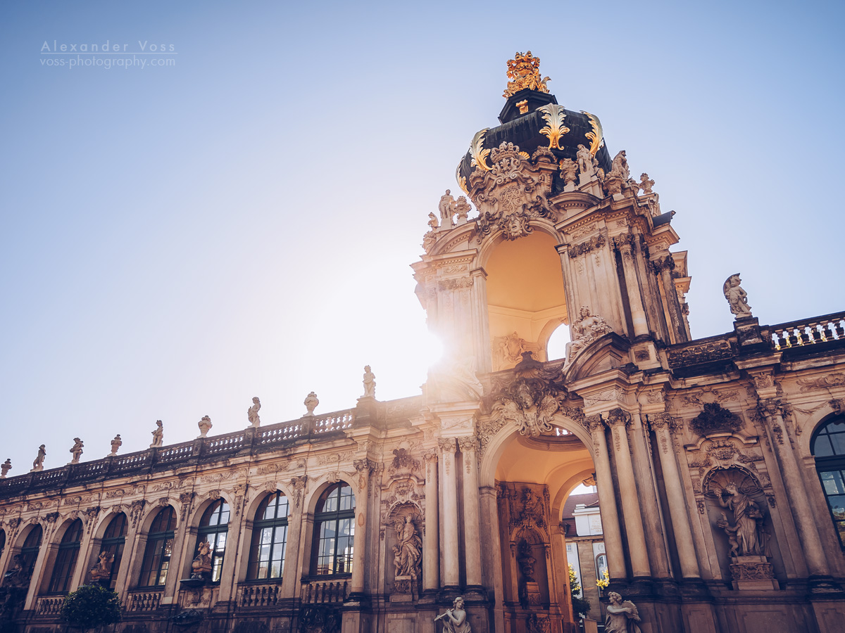 Dresden Zwinger / Kronentor Gate